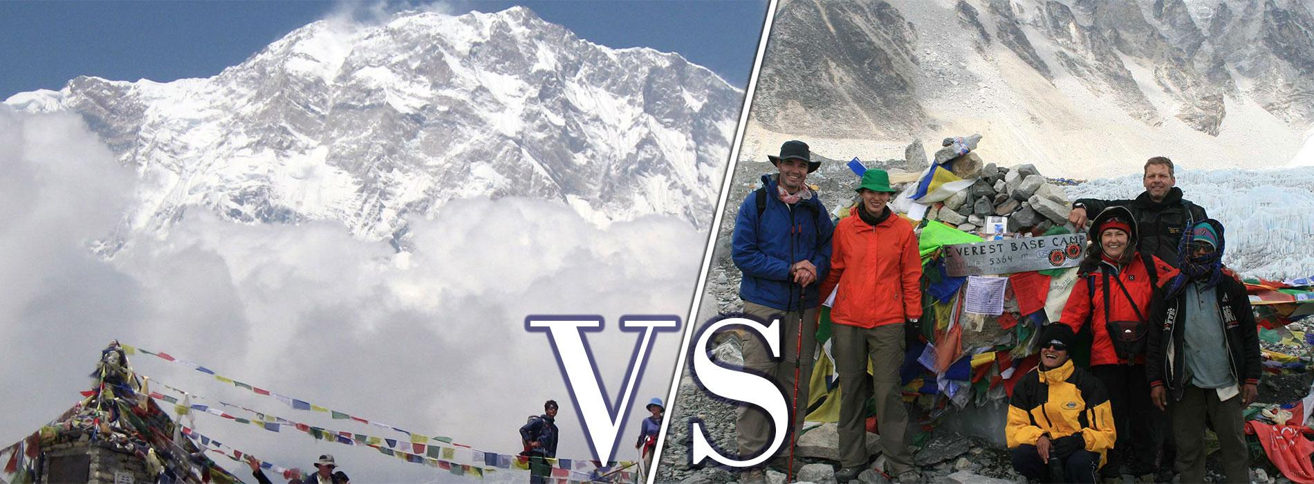 Annapurna VS Everest: Which trek to choose?