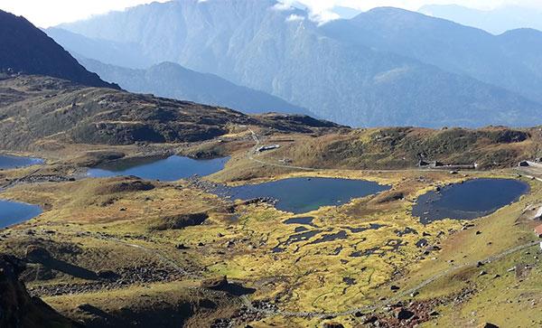 Panch Pokhari – Tilman Pass